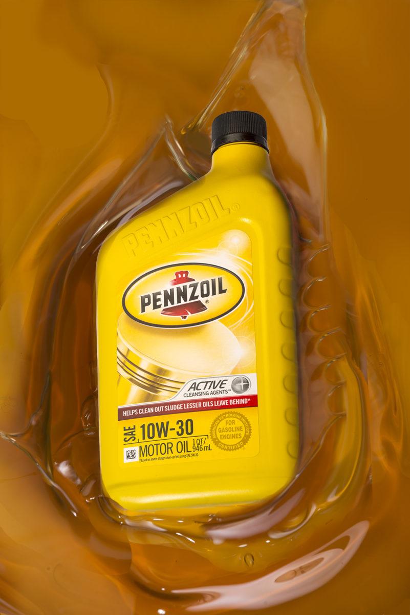 Pennzoil 10W-30 motor oil