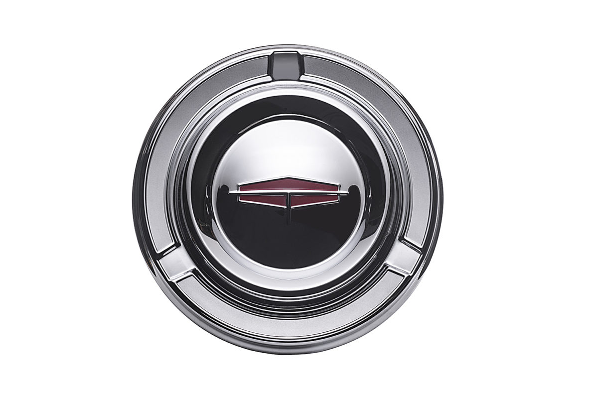 Chevy hubcap