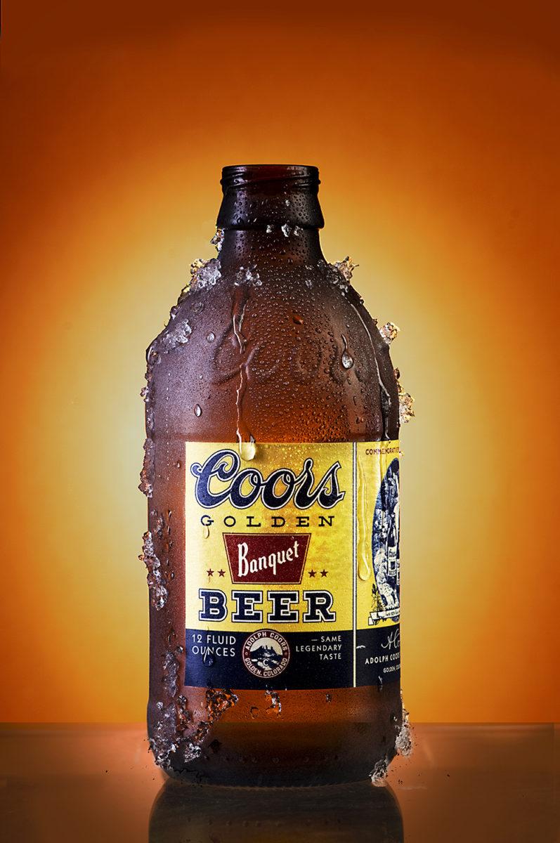 Retro Coors Bottle