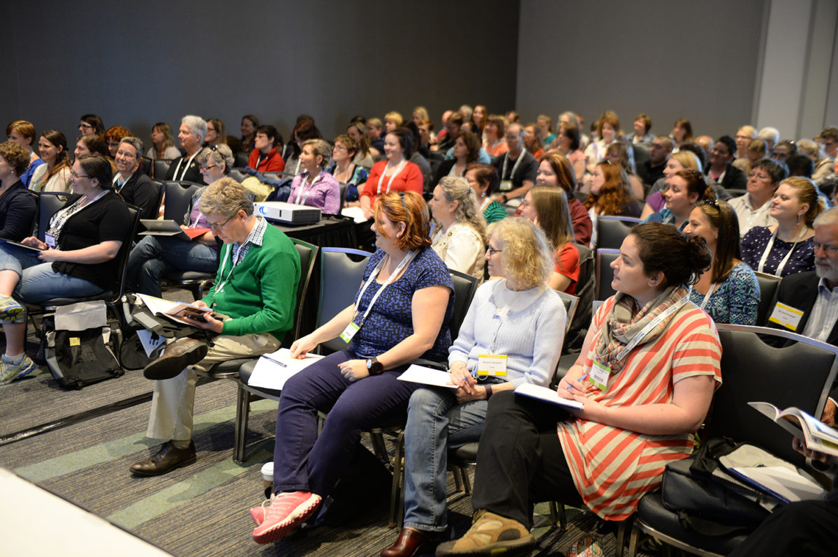 Veterinary Convention meeting room full of attendees