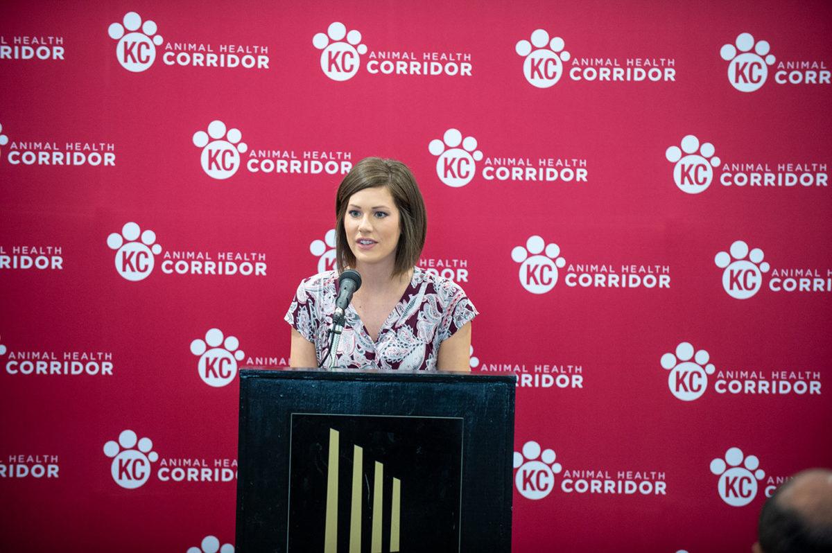 Animal Health Corridor press conference 2