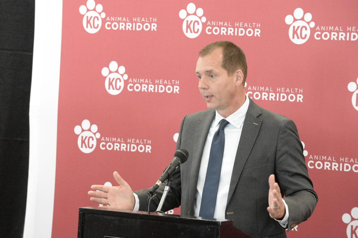Animal Health Corridor press conference 1