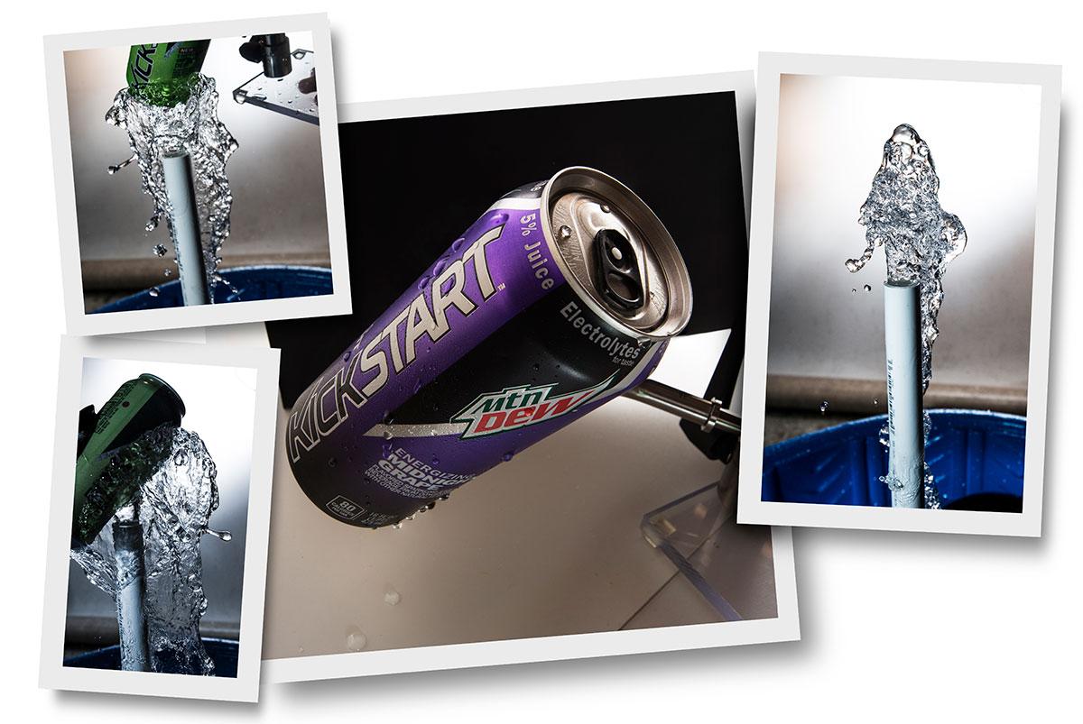Mtn Dew Kick Start Purple